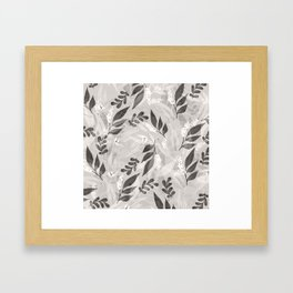 Leaves 4 Framed Art Print
