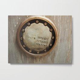 The Seal Metal Print