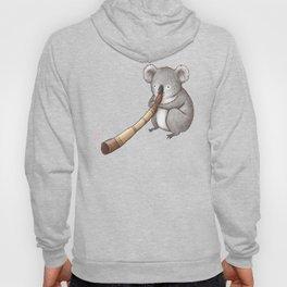 Koala Playing the Didgeridoo Hoody