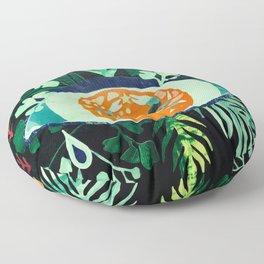 Third Eye Zodiac, Cancer Floor Pillow