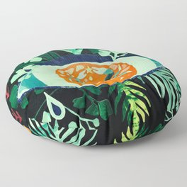 Third Eye Zodiac, Cancer Floor Pillow