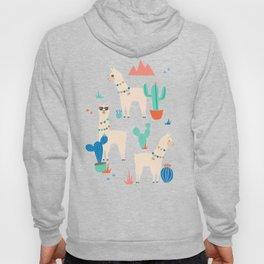 Summer Llamas Hoody
