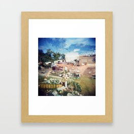 junk n shit Framed Art Print
