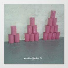 Variation Number 36 (photo) Canvas Print