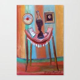 table teeth Canvas Print