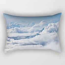 Arctic Clouds Rectangular Pillow