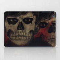kris tate iPad Cases featuring Tate by Miriam Soriano