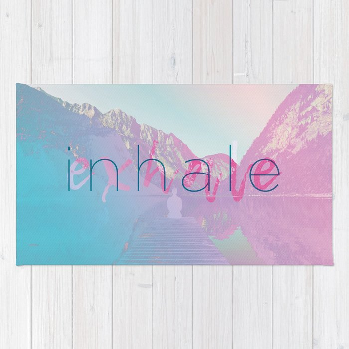 Inhale / Exhale Rug