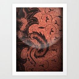 Batik solo Art Print