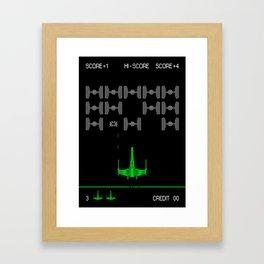 Star-Invaders Framed Art Print