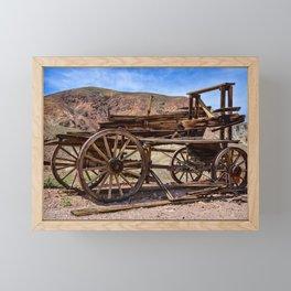Calico Ghost Town - 7062, California Framed Mini Art Print