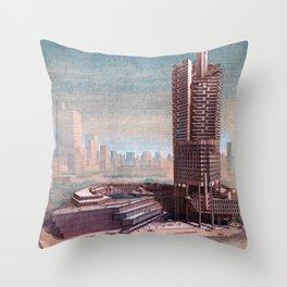 The Concourse, Beach Road, Singapore Throw Pillow