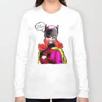 batgirl Long Sleeve T-shirts featuring Batgirl by Ed Pires