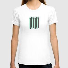 Mint and Chocolate Bricks T-shirt