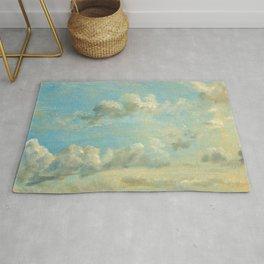 "John Constable ""A Cloud Study"" 5. Rug"
