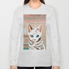 Sialata, the Kitty Cat Long Sleeve T-shirt