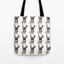 F is for French Bulldog Tote Bag