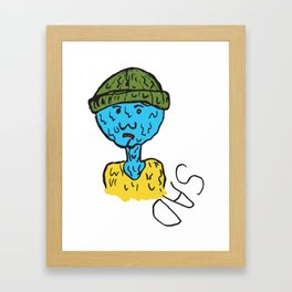 Sad Boy  Framed Art Print