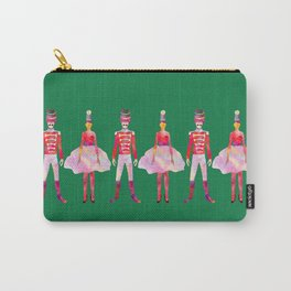 Nutcracker Ballet - Candy Cane Green Carry-All Pouch