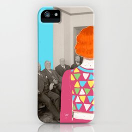 Don't let the bastards grind you down iPhone Case