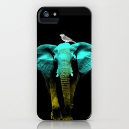 Friends for Life fluro iPhone Case