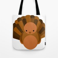 turkey Tote Bags featuring Turkey by StephyLe