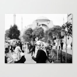 Touring Istanbul Canvas Print