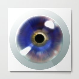 Magic Eye - Graphic Design Metal Print