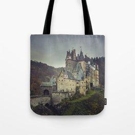 Eltz castle panoramic shot Tote Bag