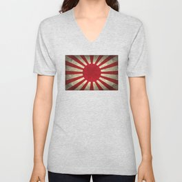 The imperial Japanese Army Ensign Flag Unisex V-Neck
