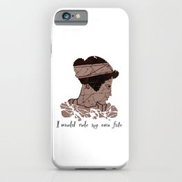 I Would Rule my Own Fate - Helen of Sparta iPhone Case