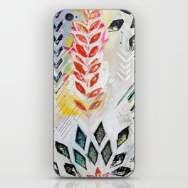 """Holocene"" Original Painting by Flora Bowley iPhone Skin"