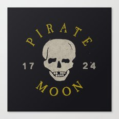 Pirate Moon Canvas Print
