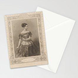 Elssler Fanny  MalCostume de Melle Fanny Essler sic role de Mathilde dans Lile des pirates Ballet Academie Royale de MusiqueAdditional Ile des pirates Stationery Cards
