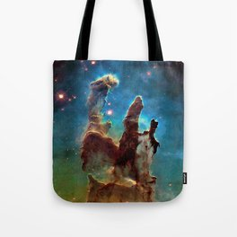 Eagle Nebula's Pillars Tote Bag