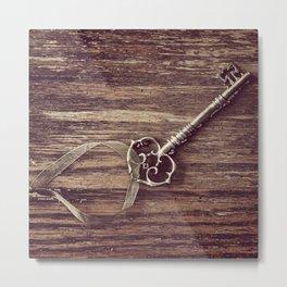 Just a Plain Ole' Prop Key Metal Print
