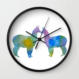 Alpcas Wall Clock