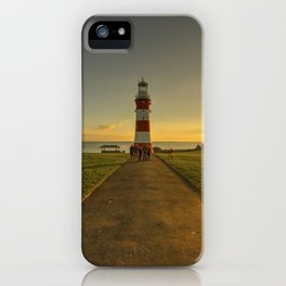 Smeaton's Tower Sunset  iPhone Case