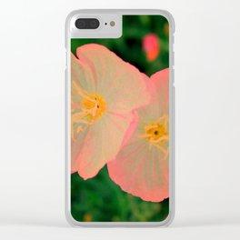 2 Tangerine Flowers | Flower | Nadia Bonello | Canada Clear iPhone Case