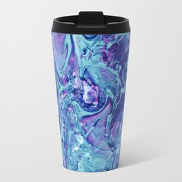 Fluid Swirling Sea Travel Mug