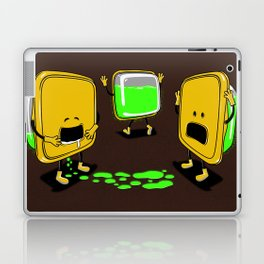 Radioactive Tupper Laptop & iPad Skin