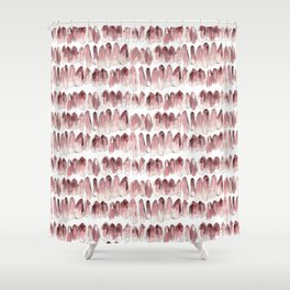 Crystals - Rose Quartz Shower Curtain