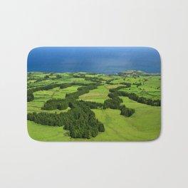 Typical Azores landscape Bath Mat