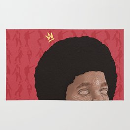Baby MJ (red) Rug