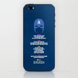 Call it, Captain iPhone Skin