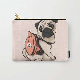 Pug Back to School Carry-All Pouch