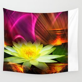 Wellness Water Lily 2 Wall Tapestry