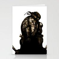 leonardo Stationery Cards featuring Leonardo by superdaimos