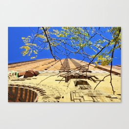 Reds & Blues Canvas Print