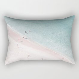 beach family love Rectangular Pillow